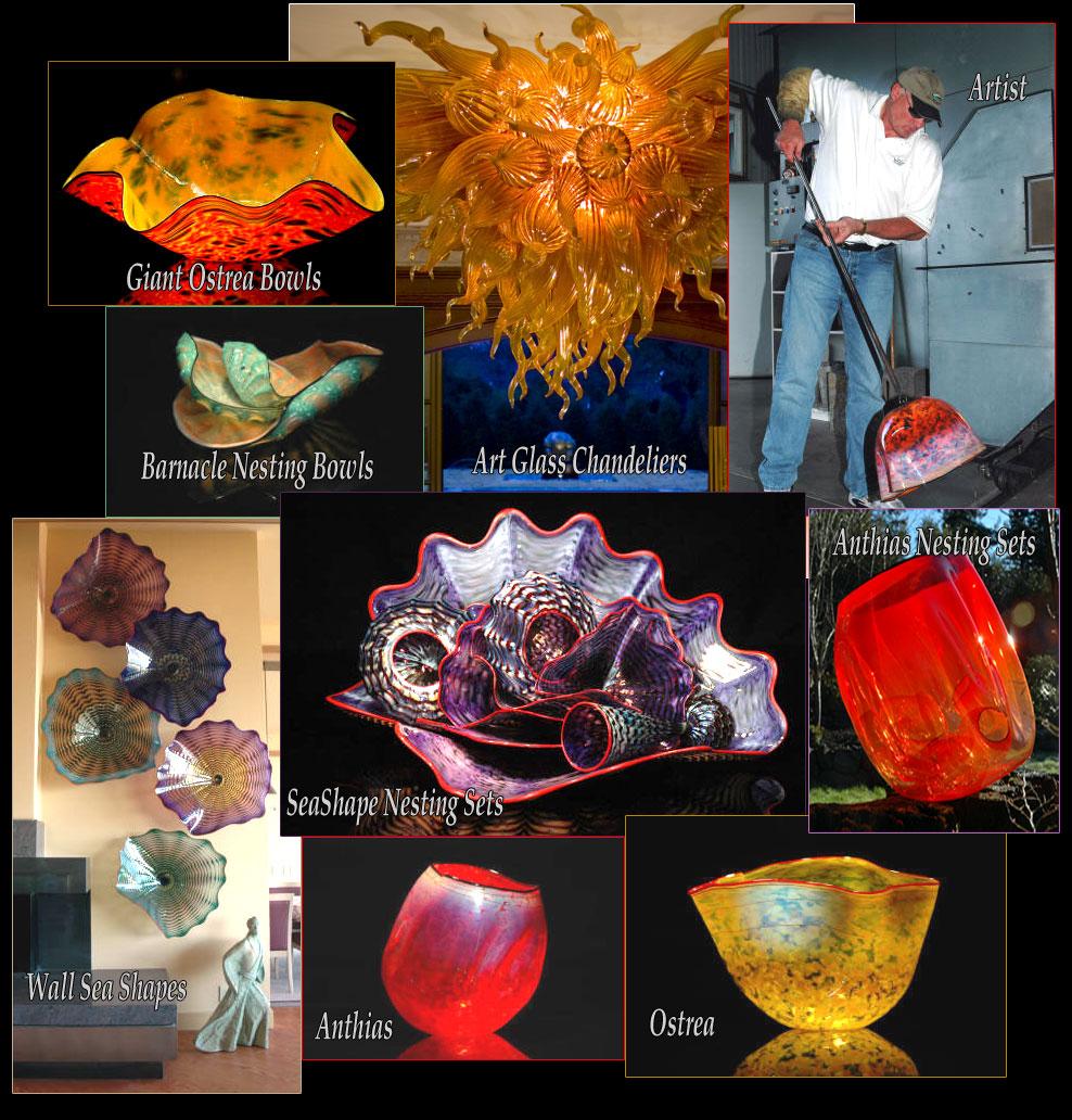 Art glass gallery of art glass artist robert kaindl - Glass art by artis ...